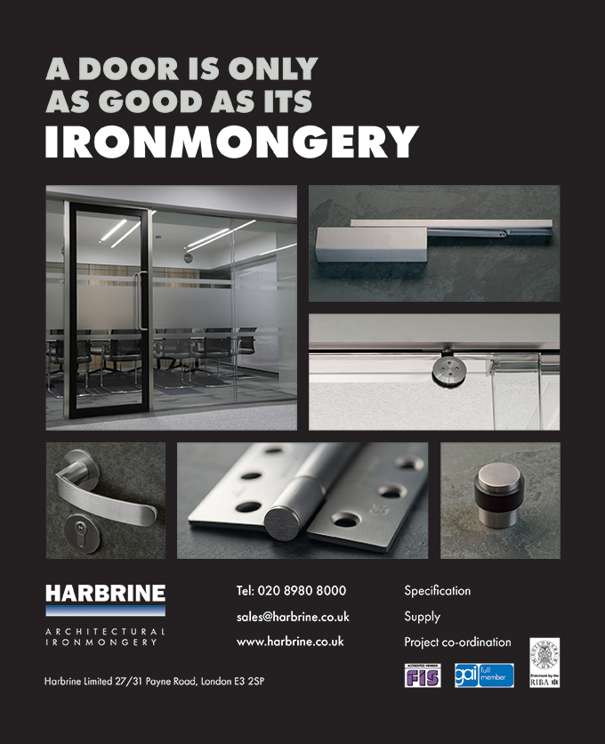 Harbrine Finish 2017 advert
